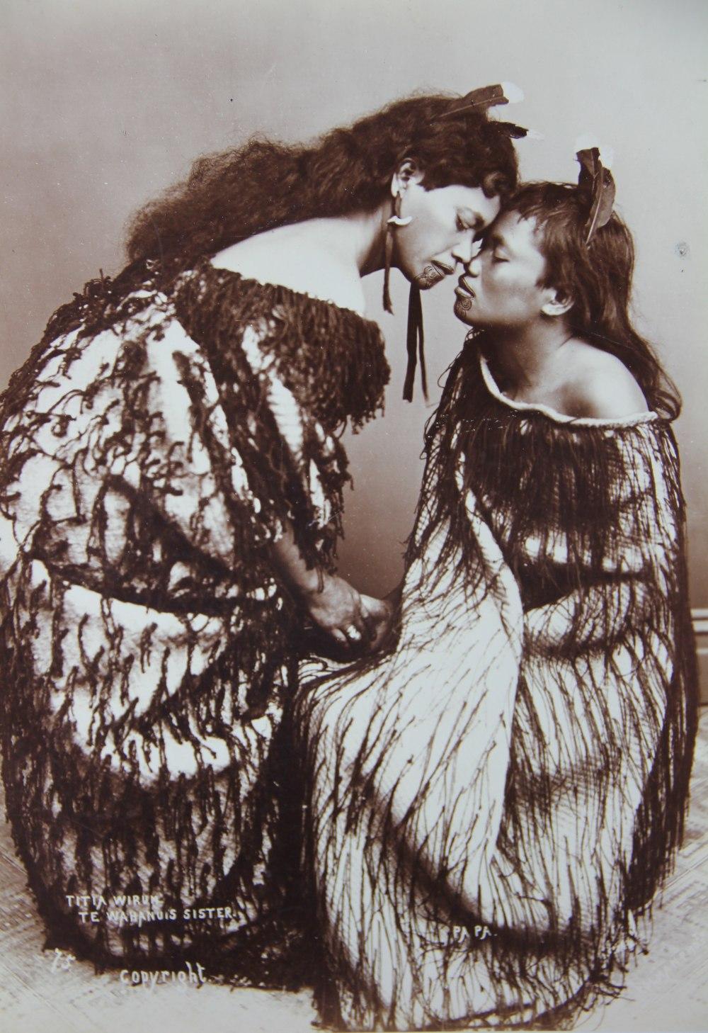 Rare Maori Photos Snapped Up Antique Collecting Magazine