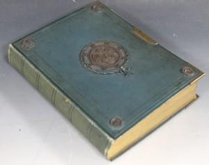 A Victorian photograph album