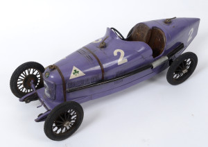 A model of an Alfa Romeo