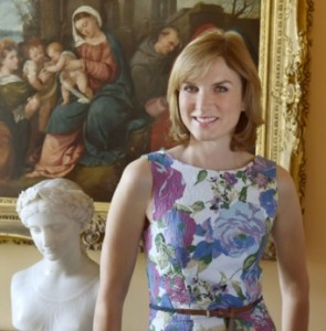 Fiona Bruce of BBC Antiques Roadshow
