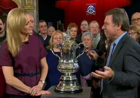 The FA Cup on the BBC's Antiques Roadshow