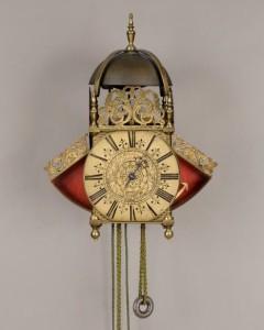 A British wall clock