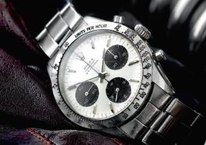 Rolex Cosmograph Daytona sold for £11,000 plus premium