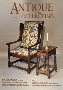 May 2016 issue of Antique Collecting