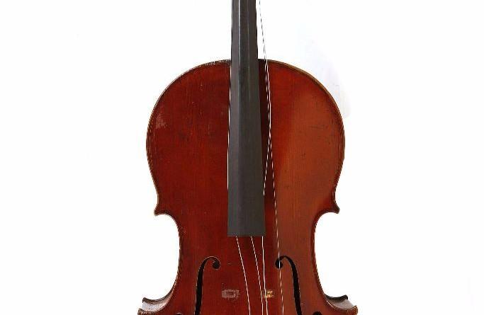 French Mirecourt cello