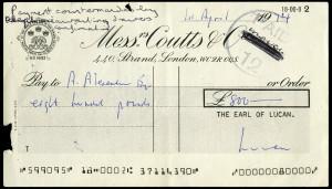 Lucan cheque