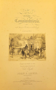 Lewis' Illustrations of Constantinople