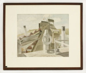 Eric Ravilious 'The James' and 'The Foremost Prince'