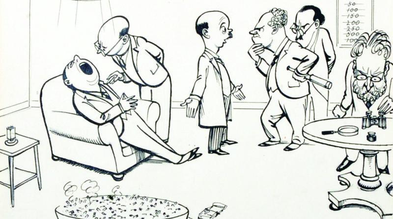 HM Bateman cartoon