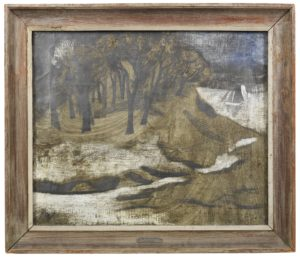 •	1928 (Pill Creek) by Ben Nicholson