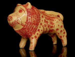 Grayson Perry Red Cross Lion