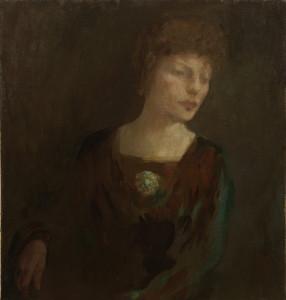 Portrait of Mrs Alexander Morten by Kahlil Gibran