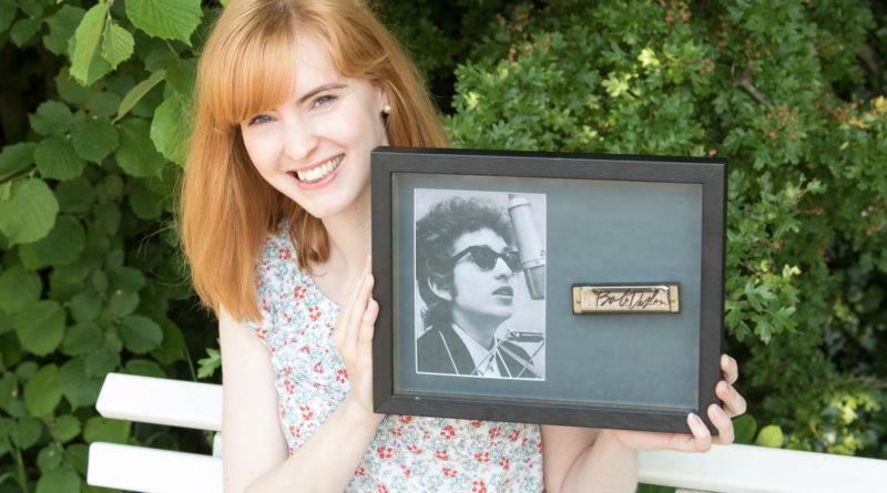 Harmonica belonging to Bob Dylan
