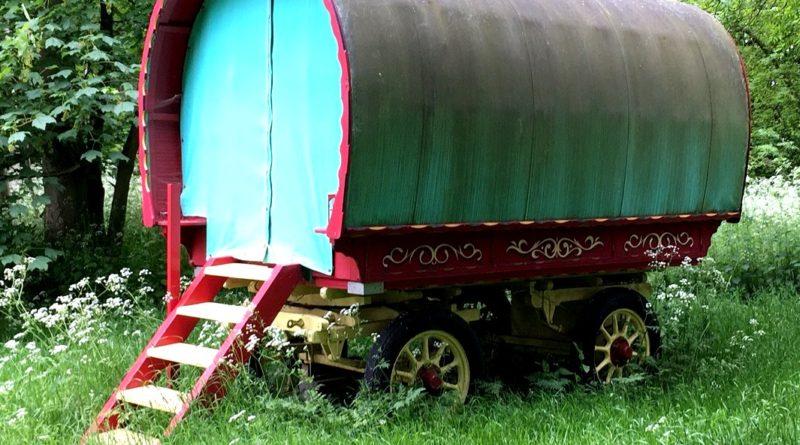Vintage gypsy caravan