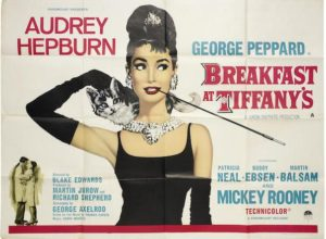 Breakfast at Tiffany's film poster