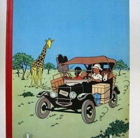 Tintin in Africa