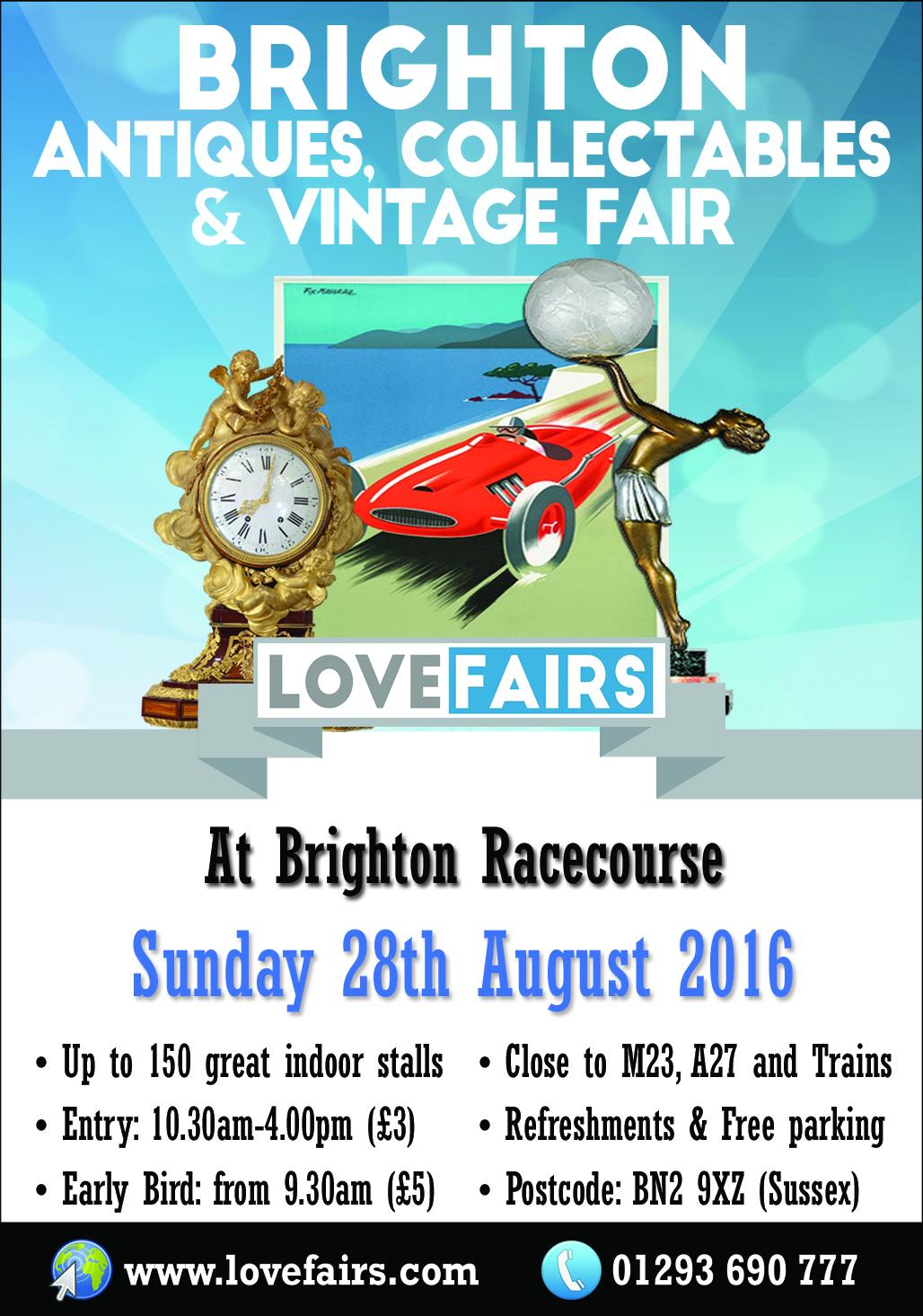Brighton Antiques, Vintage & Collectables Fair
