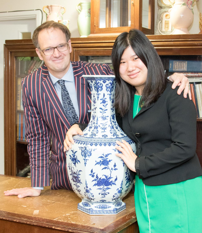 Charles Hanson and Jiao Jiao Wang
