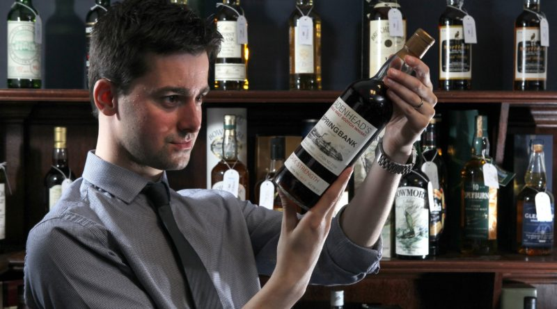 McTaers whisky specialist Laurie Black