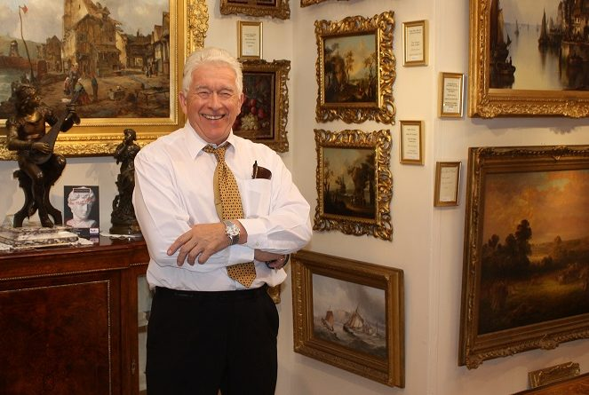 Brian Saunders of Saunders Fine Art