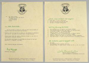 Harry Potter letter