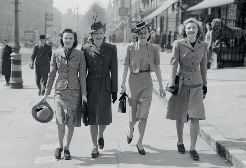 Wartime women in London in the spring of 1941, © image IWM