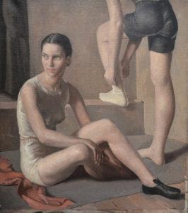 'The Runners' by British artist Lancelot Myles Glasson