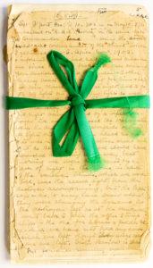 The diary of Matron and Nurse Miss Katy Beaufoy