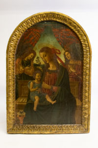 A panel of Madonna