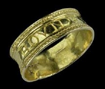 A late 16th century ring