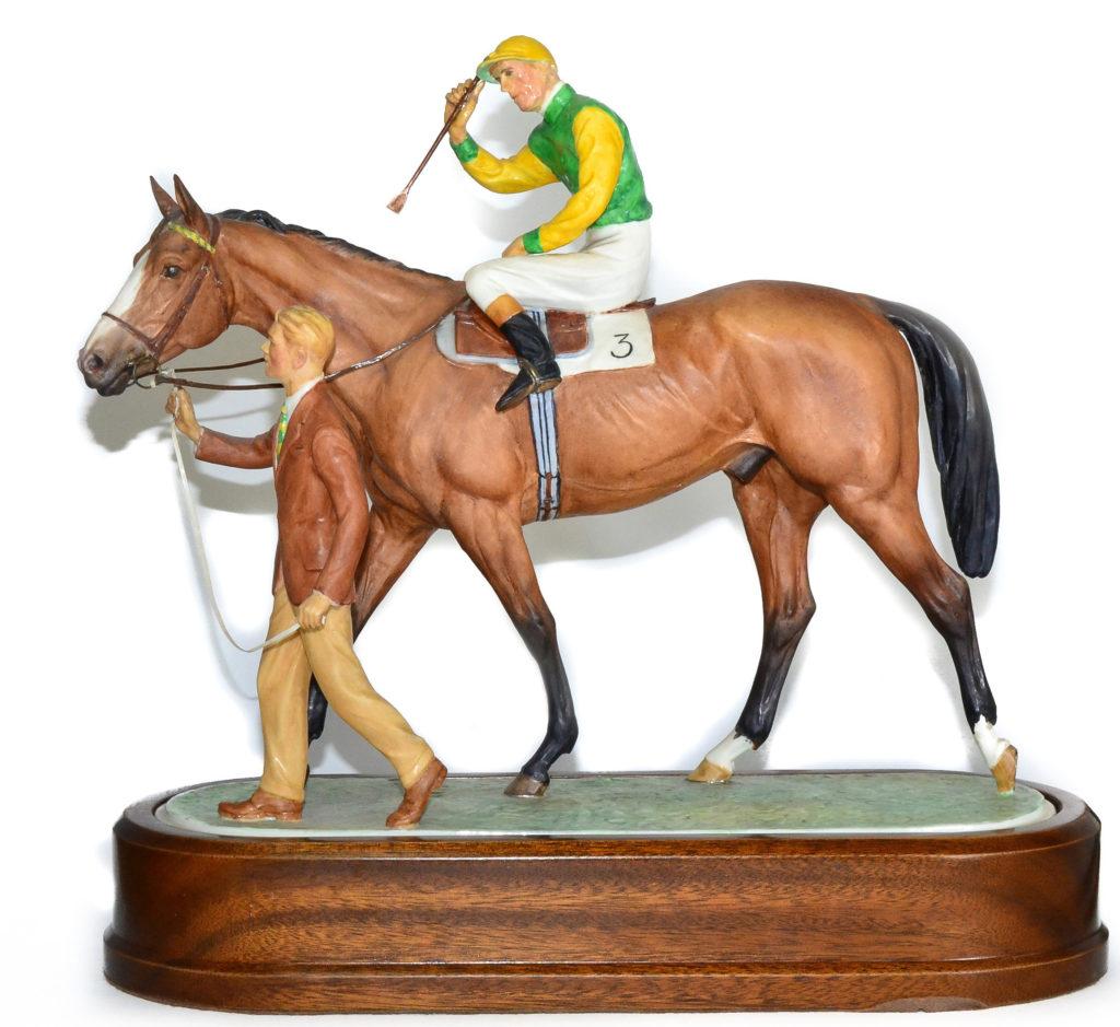 Royal Worcester horse