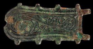 7th century belt buckle