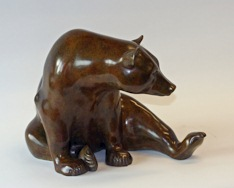 Carving of a bear
