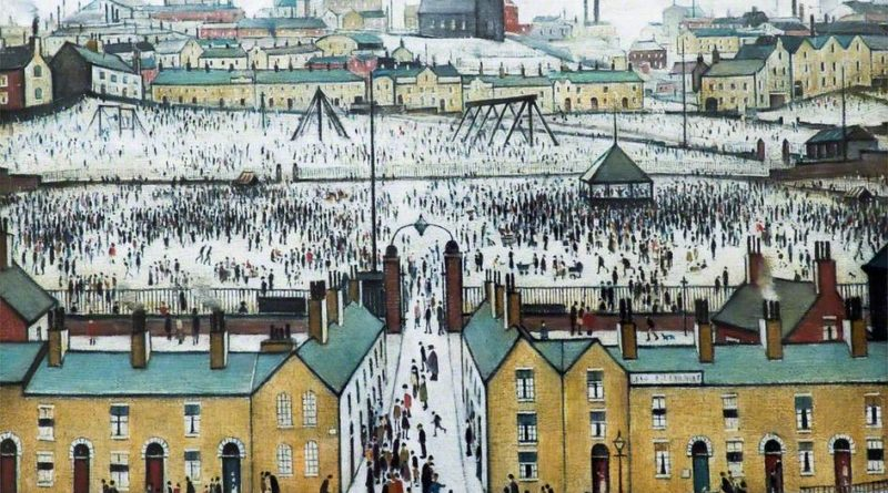 Laurence S Lowry's 'Britain at Play