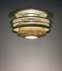 Poul Henningsen 'Paris' ceiling light, designed 1925 Estimate: £70,000-100,000