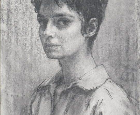 Zsuzsi Roboz self-portrait