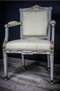 A Louis XVI chair
