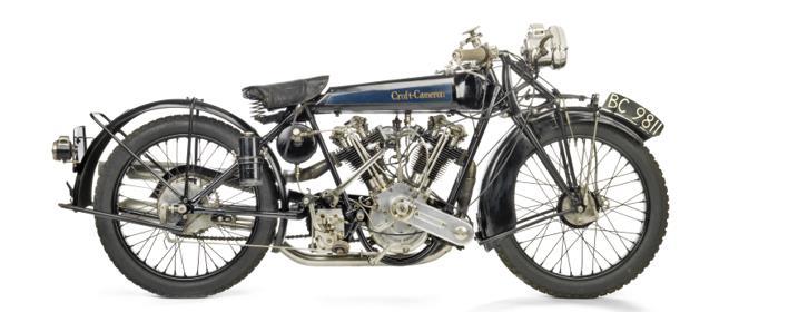1924 Croft-Cameron 996cc Super Eight – estimate £160,000-200,000