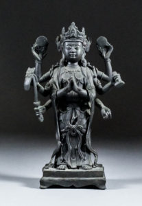 bronze-figure-of-zhunti-ousa-11500