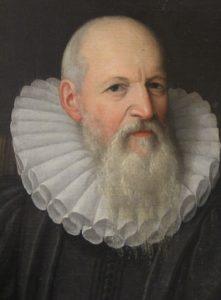 Gentleman with grey beard in ruffin manner of Van Mierevelt