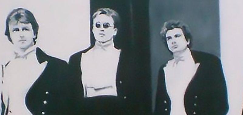 Bullingdon Club Class of 87 oil painting