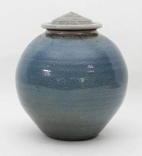 a jar and cover by Michael Casson