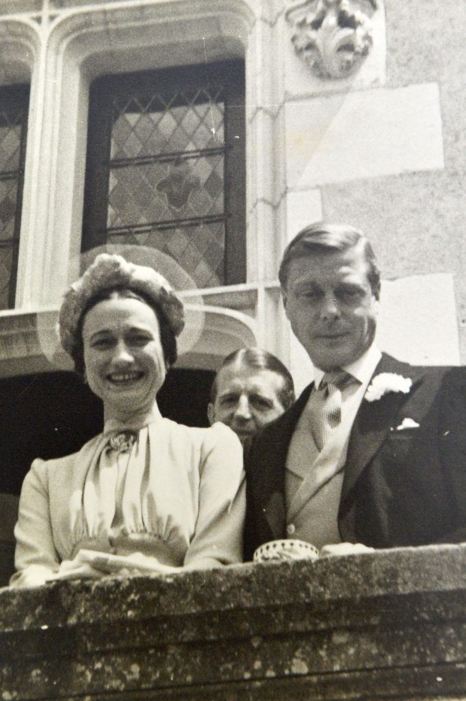The marriage of Edward VIII and Wallis Simpson