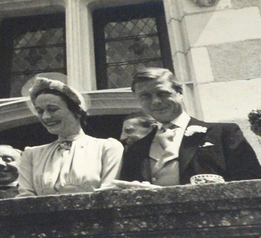 Photographs from the wedding of Edward VIII and Wallis Simpson