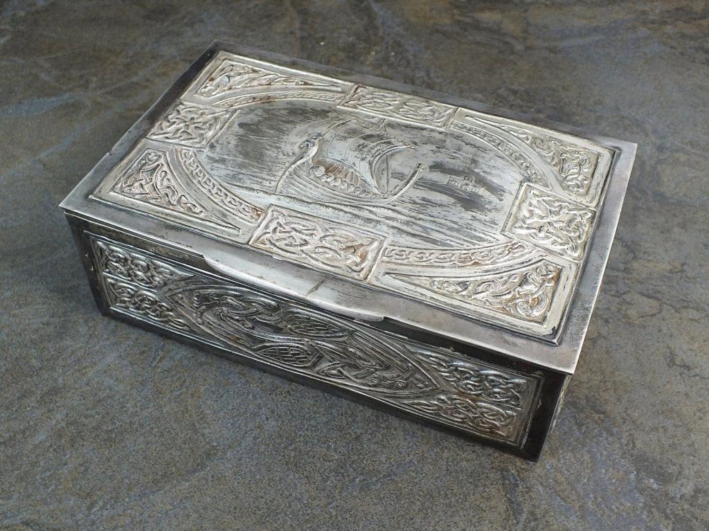 Iona silver box