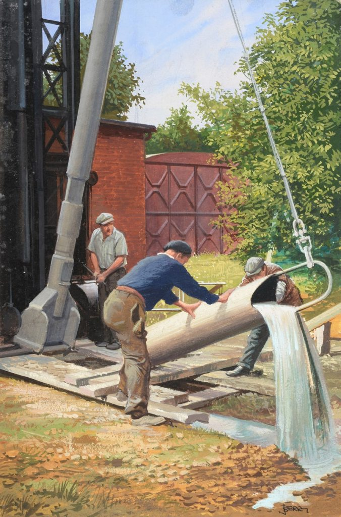 A ladybird Books People at Work image from the John Berry Collection