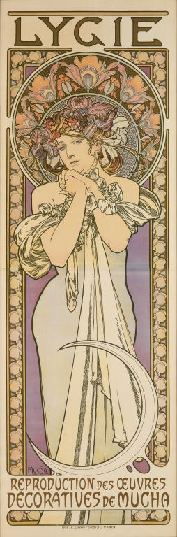 Poster by Alphonse Mucha