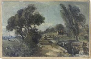 A sketch by John Constable