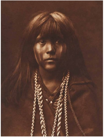A scene from Edward S. Curtis' The North American Indian