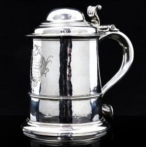 Dr Samuel Johnson's silver tankard